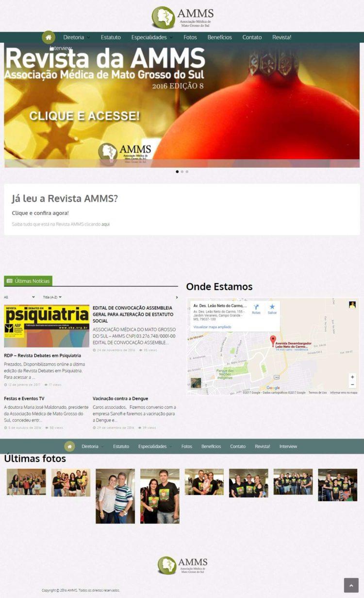 AMMS – Associação de Médicos de Mato Grosso do Sul